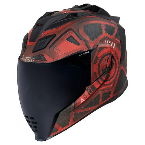 Icon Airflite Helmet - Blockchain Red