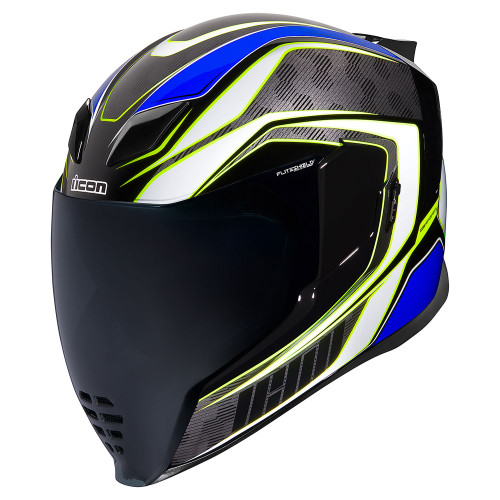 Icon Airflite Helmet - Raceflite Blue