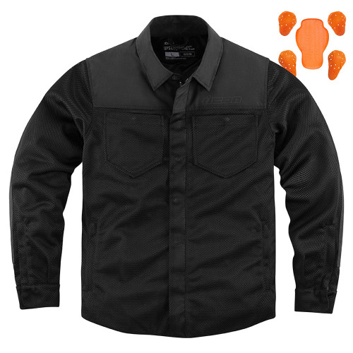 Icon Upstate Riding Shirt - Black