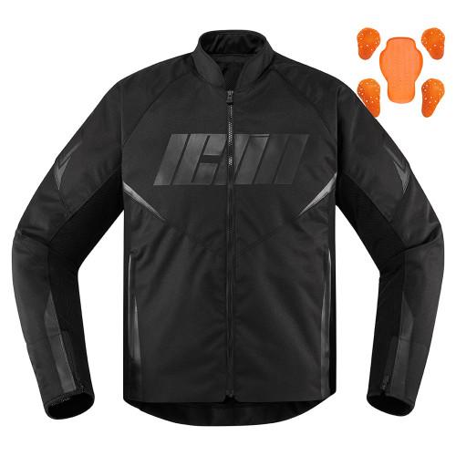 Icon Hooligan Jacket - Black
