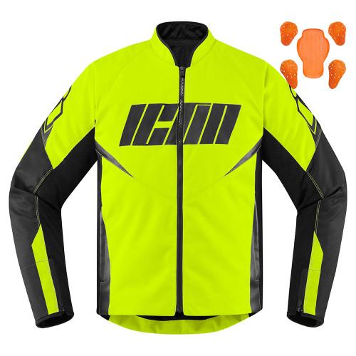Icon Hooligan Jacket - Hi-Viz