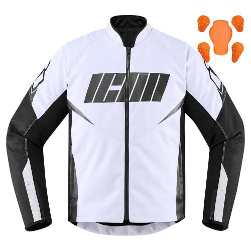 Icon Hooligan Jacket - White
