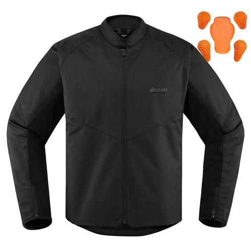Icon Hooligan Perforated Jacket - Black