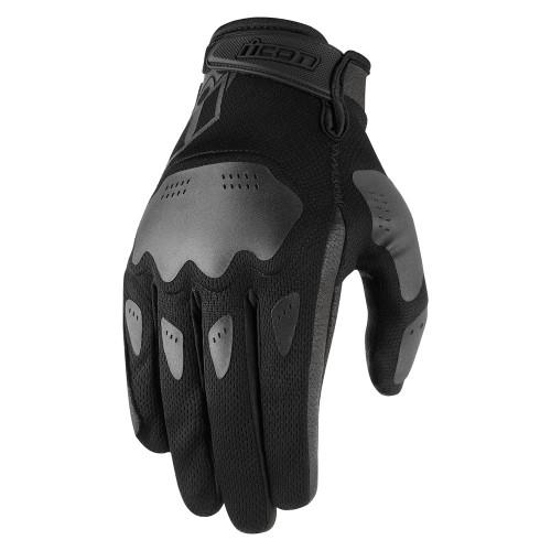 Icon Hooligan Gloves - Black