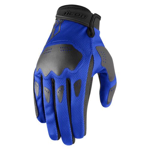 Icon Hooligan Gloves - Blue