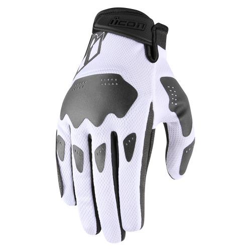 Icon Hooligan Gloves - White