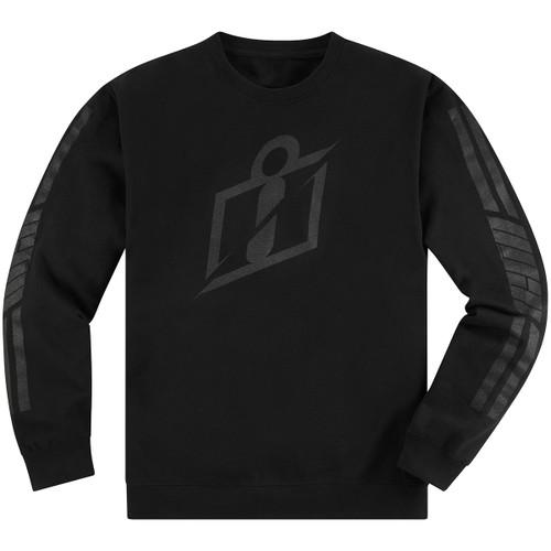 Icon RS Gradient Crew Fleece - Black
