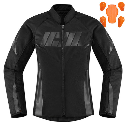 Icon Hooligan Women's Jacket - Black