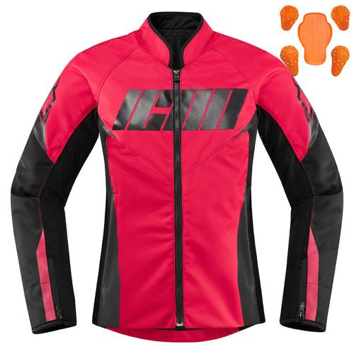 Icon Hooligan Women's Jacket - Rouge