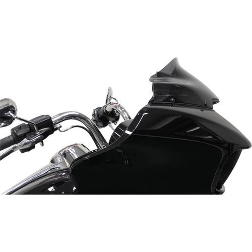 "Klock Werks 9"" Sport Flare Windshield for 2015-2020 Harley Road Glide - Dark Smoke"