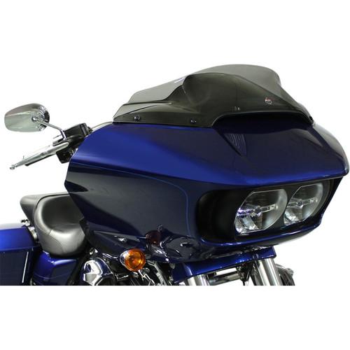 "Klock Werks 6"" Sport Flare Windshield for 2015-2020 Harley Road Glide - Dark Smoke"