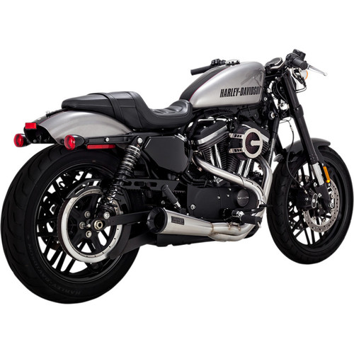 Vance & Hines Upsweep 2-1 Stainless Exhaust for 2004-2020 Harley Sportster