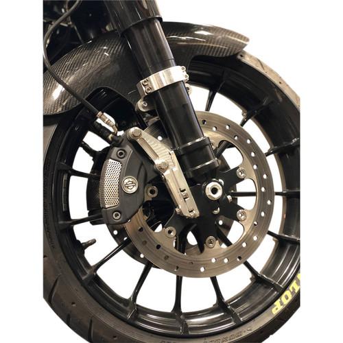 Alloy Art 49mm Lower Legs for 2014-2020 Harley Touring - Black