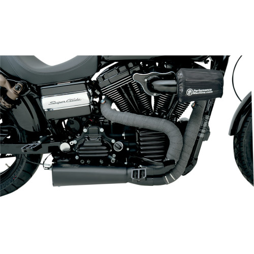 "Drag Specialties Exhaust Heat Wrap Kit - 2"" Black"