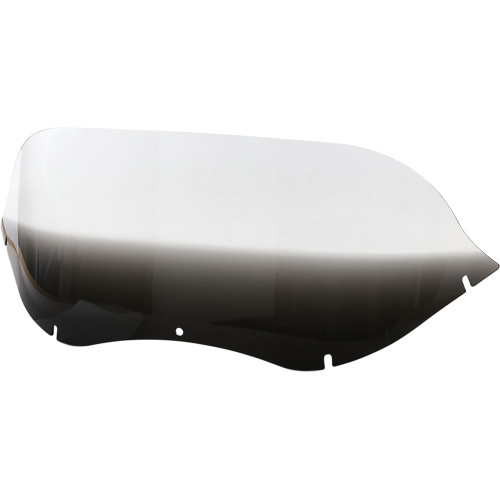 """Memphis Shades 9"""" Replacement Windshield for 1998-2003 Harley Road Glide – Gradient Black"""
