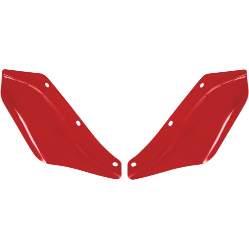 Memphis Shades Side Wind Deflectors for 1996-2013 Harley Touring - Red