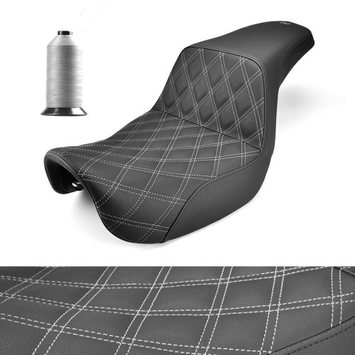 Saddlemen Step Up Seat for Harley FXR - Custom Design