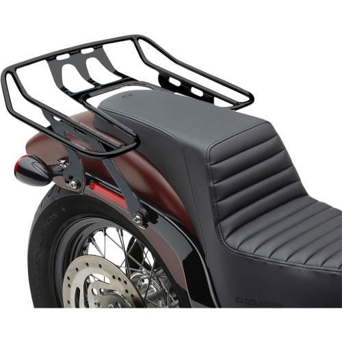 Cobra BA Wraparound Detachable Solo Luggage Rack for 2018-2020 Harley Softail FXBB/FLSL - Black