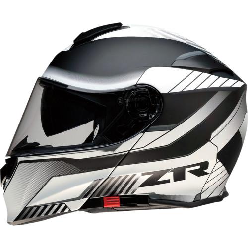 Z1R Solaris Modular Scythe Helmet - White/Black