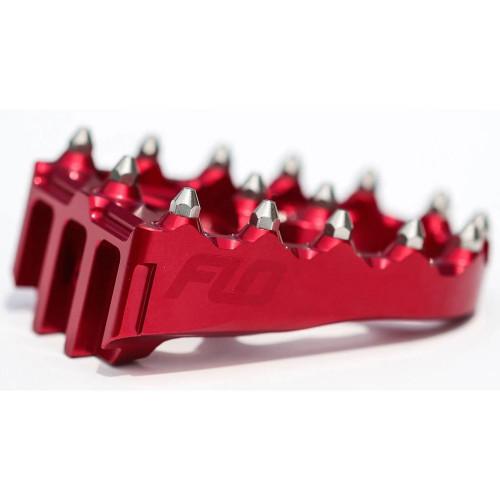 Flo Motorsports Brake Pedal Tip for Flo Motorsports Brake Arm - Red