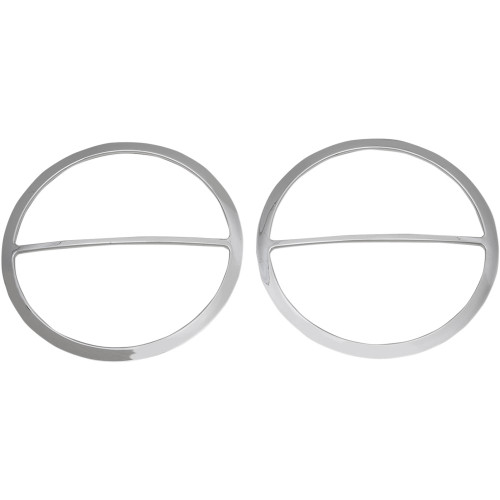 Drag Specialties Chrome Speaker Accents for 2014-2020 Harley Touring