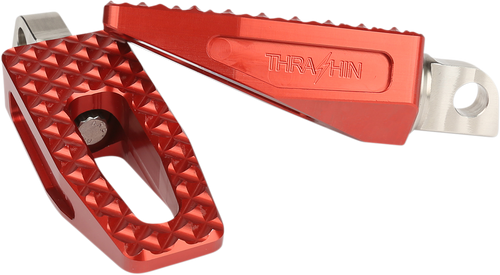 Thrashin Supply P-54 Slim Foot Pegs for Harley - Red