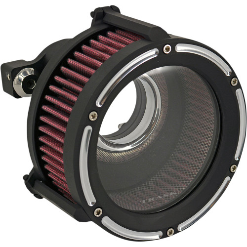 Trask Assault Charge High-Flow Air Cleaner for 1991-2020 Harley Sportster - Reverse Cut