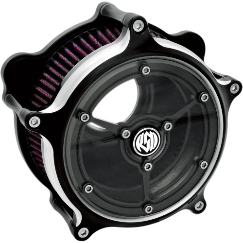 Roland Sands Clarity Air Cleaner for 2008-2017 Harley Twin Cam Electronic Throttle - Contrast Cut