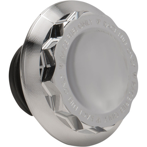 Arlen Ness 12-Point Style Vented Gas Cap for 1997-2020 Harley - Chrome