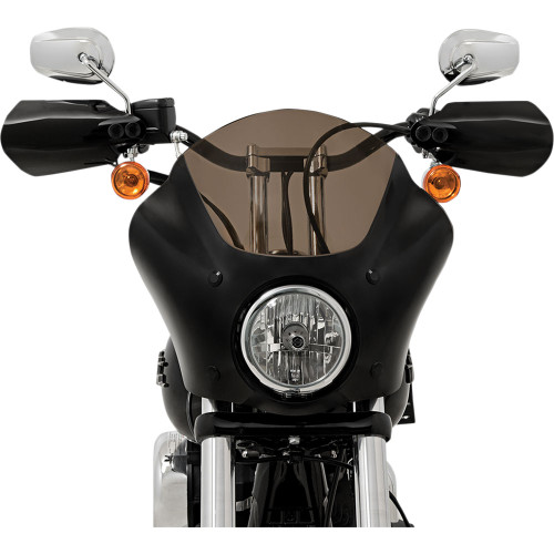 Memphis Shades Hand Guards for Harley FLHR/Softail/Dyna/XL* - Black