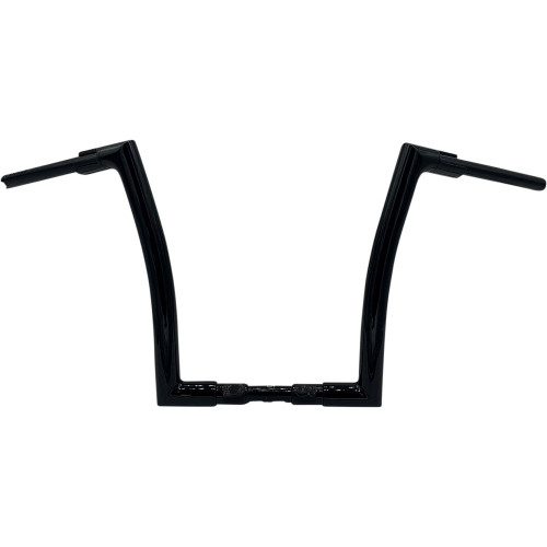 """Fat Baggers 1-1/2"""" Flat Top EZ Install 14"""" Handlebars for 2018-2020 Harley Road King Special FLHRXS - Black"""