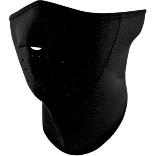 Zan Headgear Black 3 Panel Face Mask