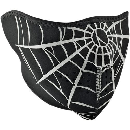 Zan Headgear Spider Web Face Mask