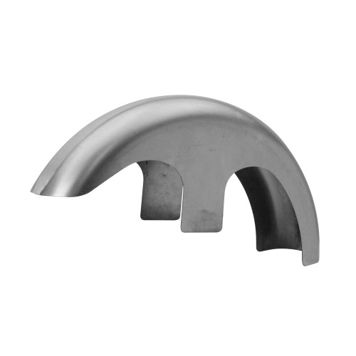 """Copy of Custom Chrome 'Forty' Custom 6"""" Front Fender for Harley Touring with 21"""" x 3.5"""" Wheels"""