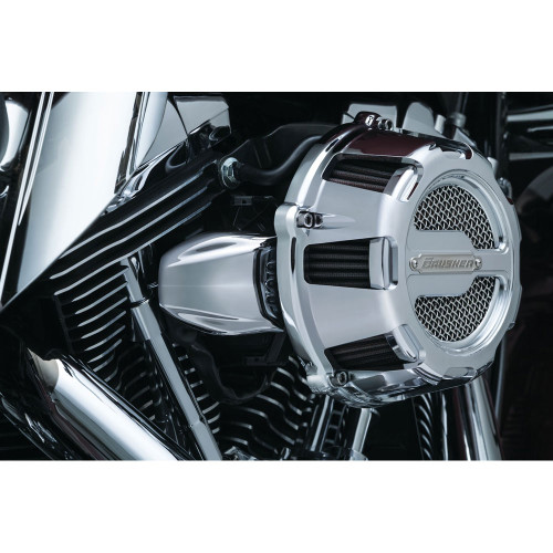 Kuryakyn Bantam Throttle Servo Motor Cover for 2008-2016 Harley - Chrome