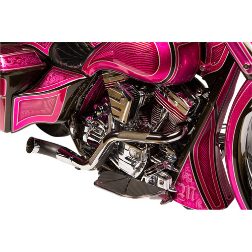 Misfit Industries NB Performance 2-Into-1 Exhaust for 1997-2016 Harley Touring