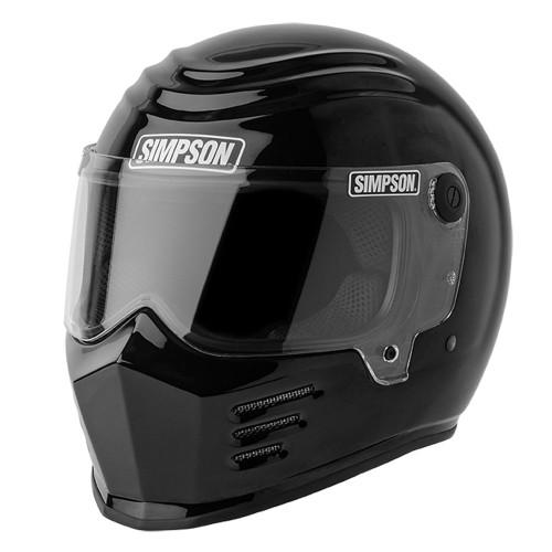 Simpson Outlaw Bandit Helmet - Gloss Black
