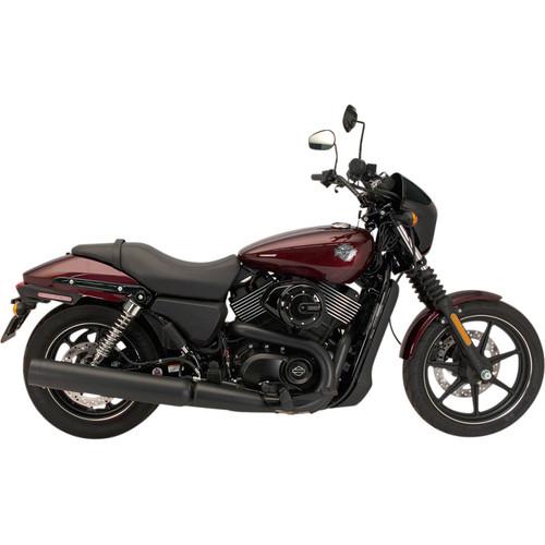 Supertrapp Black Stout Slipon Muffler for 2015-2020 Harley XG Street