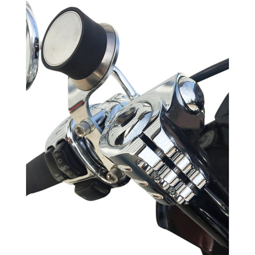 Klock Werks iOMounts Device Handlebar Perch Mount Kit for 1996-2016 Harley