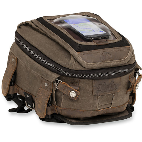 Burly Tank/Tail Bag - Dark Oak