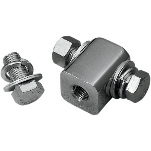 Drag Specialties Mounting Block for Bottom-Mount Headlights