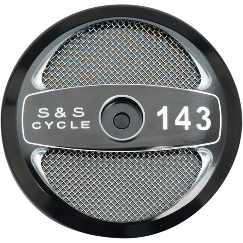 """S&S Stealth Air Cleaner Cover - 143"""""""