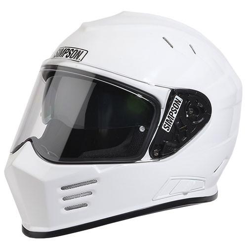 Simpson Ghost Bandit White Helmet