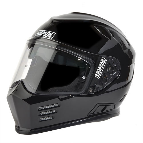 Simpson Ghost Bandit Gloss Black Helmet