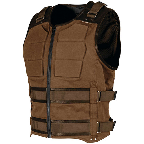 Speed and Strength True Grit Armored Vest - Brown