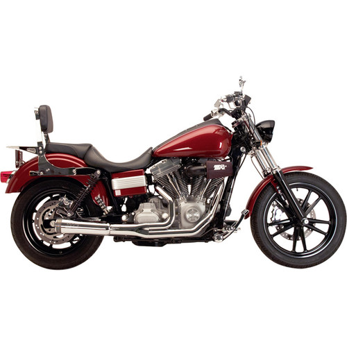 Supertrapp Fat Shot 2-Into-1 Exhaust System for 2006-2017 Harely Dyna