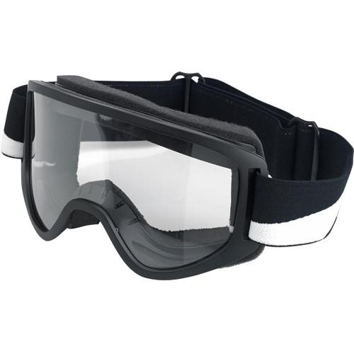 Biltwell Moto 2.0 Goggles - Bolts Black