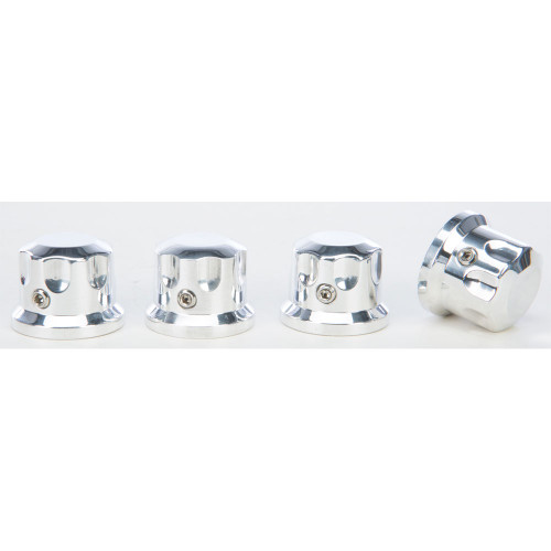 Rooke Customs Headbolt Covers for Harley - Polished