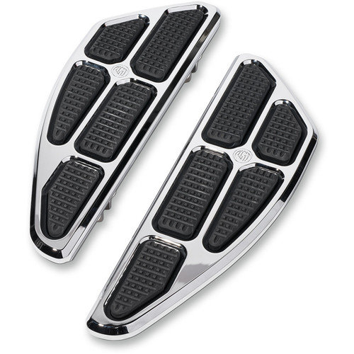 Roland Sands Boss Driver Floorboards for Harley - Chrome