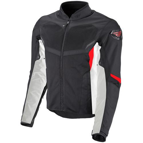 FLY Street Airraid Jacket - Black/Red/White